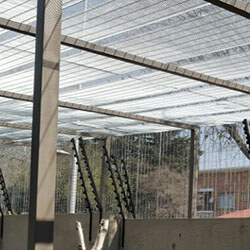 external mesh fencing