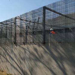 secure mesh fences